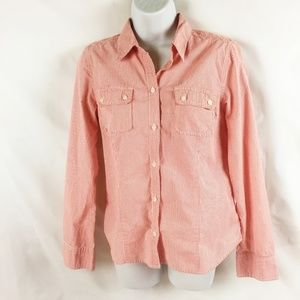 (7-090) American Eagle 12 Long Sleeve Button Down